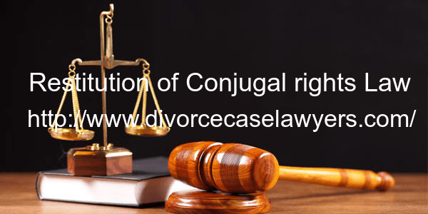 restitution of conjugal rights retain or Restitution of conjugal right: a comparative study among indian personal laws marriage under all matrimonial laws is union imposing upon each of the spouses certain marital duties and gives to each of them certain legal rights.